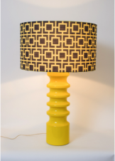 Harcourt Golden Yellow_Custom Lamp Shade Yolk Interiors